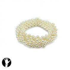 SG Paris Elastic Bracelet 5mm Cream Pearl Ivoire Bracelet Elastic Bracelet Plastic The Essential Women Pearl Addict The Essential Ball SG Paris. $6.48