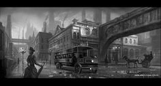 Steampunk morning air by on DeviantArt