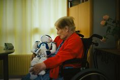 Zora the robot is acting as a companion to patients with dementia at a nursing facility in France. The robot helps keep patients motivated and engaged.
