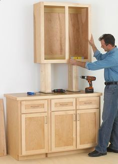 Cabinet Woodworking Plan, Cabinetmaking Shop Project Plan | WOOD Store! Visit…