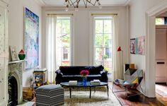 Το πιο cool σπίτι στο Brooklyn Ελάτε μία βόλτα στο εσωτερικό του!