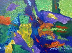 Arrecife  19 x 27 cm Acrílico 2015