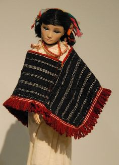 Otomi Doll Mexico by Teyacapan, via Flickr