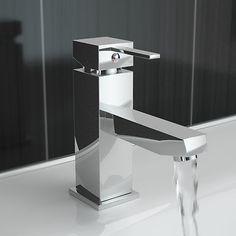 Ergonomic Designs Square Handled Mono Basin Mixer Tap - EDV305
