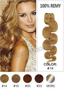 "12"" #14 Body Wave 100% Remy Human Hair [WRHBWA1214]"