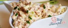 Recept Pórková pomazánka na chlebíčky Potato Salad, Potatoes, Snacks, Ethnic Recipes, Food, Appetizers, Potato, Essen, Meals