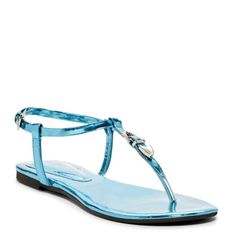 NWT Jeffery Campbell sandals NWT Jeffery Campbell sandals. Metallic turquoise leather with metal buckle. Size 6 Jeffrey Campbell Shoes Sandals