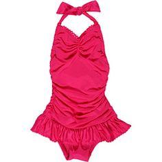 Juicy toddler girl bathing suit...so cute, so expensive ;(