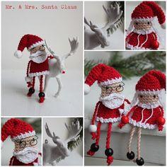 Mrshooked: Mr. & Mrs. Santa Claus