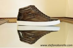 Dress With Sneakers, High Top Sneakers, Vans Sk8, Monet, Sporty, Brown, Leather, Shoes, Fashion