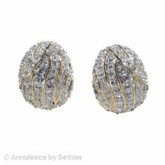 Annaleece Demure Earrings Made with Swarovski Elements Annaleece. $38.75. High quality and durable Rhodium finish.. Made with Swarovski Elements.. Nickel free, lead free and 100% hypo-allergenic.. Save 17% Off!