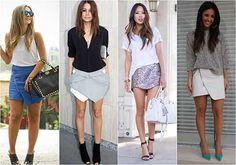 Saias na moda verão