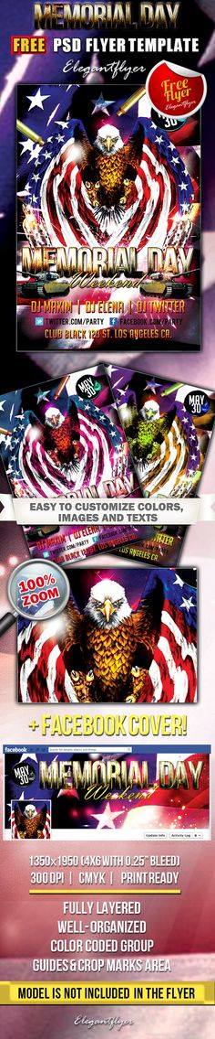 Girls Party  Free Flyer Psd Template  Facebook Cover HttpsWww