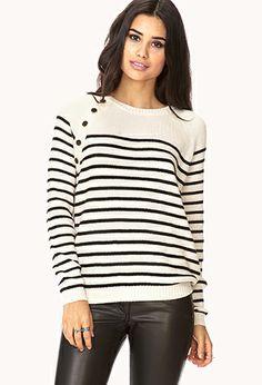Nautical Babe Raglan Sweater | FOREVER 21 - 2040495208 #ForeverHoliday