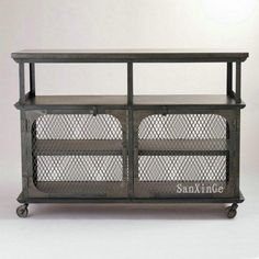 American country to do the old vintage wrought iron French Sideboard Bar Buffet diner three mobile carts(China (Mainland))