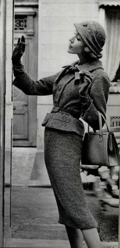 Vintage fashion. #NMArtofFashion