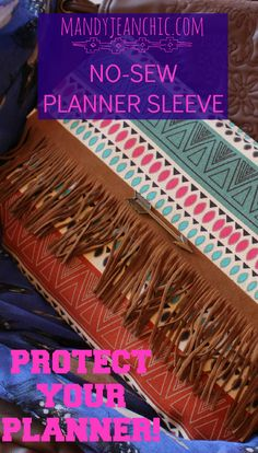 DIY Planner Sleeve/Protector for ARC Disc, The Happy Planner, Erin Condren and Day Designer
