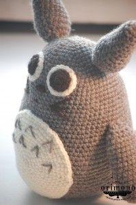 Crochet TOTORO by O R I M O N O - Ręczna Praca Awaryjna :) like me! :) http://facebook.com/orimono.reczna.praca.awaryjna