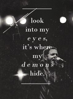 Imagine Dragons - Demons  This song is my favorite.   Along with all of their other songs.