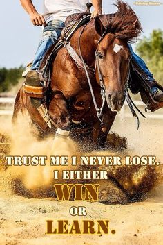 you choose; lose, win or learn