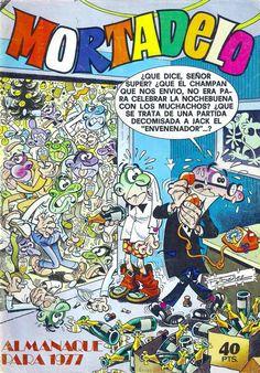 Mortadelo Época 1ª Almanaque 1977