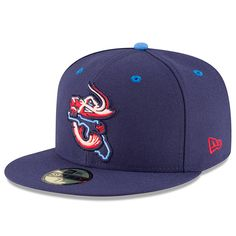 c2a44d758eb Men s Jacksonville Jumbo Shrimp New Era Royal Road Authentic Collection  On-Field 59FIFTY Fitted Hat