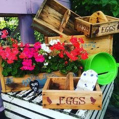 Not just #chickens we also have locally made #trugs & #planters & #accessories #sussexday