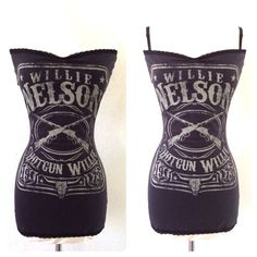 Hey, I found this really awesome Etsy listing at https://www.etsy.com/listing/184215374/shotgun-willie-nelson-pin-up-top