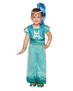 Toddler Shine Costume Deluxe - Shimmer And Shine - Spirithalloween.com