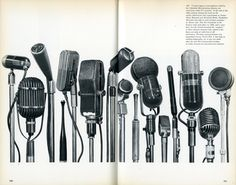"""Spread from """"History of Communications"""" by Swiss graphic designer & author Erik Nitsche (1908-1998). via Print Magazine"""