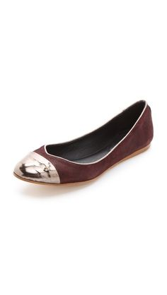 Rag & Bone Maya Ballet Flats -- don't you know that this is the color of the season?! Bauhaha.