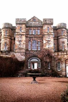 Seton Castle, in East Lothian, Scotland, is a castellated late-Georgian house was built from 1789-1791
