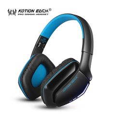 KOTION EACH B3506 Gaming headset Wireless Bluetooth Headphone V4.1 Stereo Headphones Microphone Noise Isolation Headphone #Affiliate