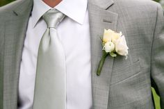 #boutonniere  Photography: Orchard Cove Photography - www.orchardcovephotography.com  Read More: http://stylemepretty.com/2010/12/29/vermont-wedding-by-orchard-cove-photography/