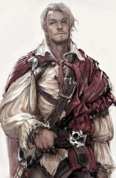 Male Human Mercenary