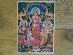 A very pretty Bharat Picture Publishers vintage by Lallibhai, £10.00