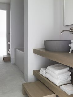Piet Boon Styling by Karin Meyn / Get inspired... by #COCOON for Contemporary Minimalist Modern Luxury Design Bathrooms. Dutch designer brand COCOON develops affordable modern design sanitary-ware for prestigious projects around the globe byCOCOON.com / Badkamer ontwerp & verbouwing met #Inox #RVS kranen byCOCOON.com en inoxtaps.com