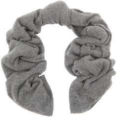 Repeat Cashmere Grey Open-weave Cashmere Scarf ($165) via Polyvore featuring accessories, scarves, grey, gray shawl, cashmere shawl, repeat cashmere, cashmere scarves and gray scarves