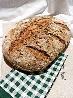 #food #bread #homemadebread annaferna-mordiefuggi: PANE INTEGRALE CON AUTOLISI E LIEVITO MADRE