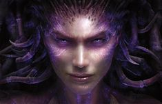 """Sarah Louise Kerrigan was a psychic terran female. She began her career as a Confederate ghost and later became the second-in-command of the Sons of Korhal. Following Arcturus Mengsk's betrayal, she was captured and infested by the Zerg Swarm, ultimately becoming the self-proclaimed Queen of Blades and leader of the Swarm. At the Dominion Ghost Academy, ghosts in training are told the Confederacy allowed Kerrigan to """"defect"""" to the zerg. Non-control zerg strains refer to her as """"the…"""