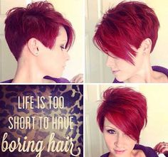 40 Short Haircut Ideas | Laddiez