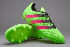 adidas ACE 16.3 FG/AG - Solar Green/Shock Pink/Core Black