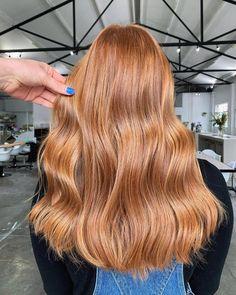 Light Copper Hair, Copper Blonde Hair, Brown Blonde Hair, Copper Hair Colors, Ginger Hair Color, Strawberry Blonde Hair Color, Ginger Hair Dyed, Ginger Blonde Hair, Strawberry Hair