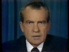 August 8, 1974. The 39th President of the United States, Richard M. Nixon, resigns. Two break-ins at the offices of the Democratic National Committee at the Watergate complex during the 1972 campaign were traced to officials of the Committee to Re-elect the President. Although he denied personal involvement, courts forced Nixon to turn over tape recordings that proved he tried to divert the investigation. Nixon became the first President in U.S. history to resign.
