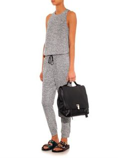 jumpsuits are huge right now and this one looks particularly comfortable. Elizabeth and James Stretch-jersey jumpsuit