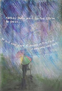 Fiona c macleod acrylics rain