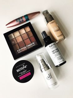 Check out my current daily makeup products.