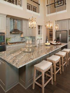 Amazing Transitional Kitchen Design