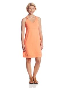 Coral Build-In Bra Women's Dress