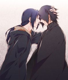 Itachi Uchiha & Sasuke Head To Head Picture | Anime Images